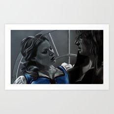 La Belle et la Bête Art Print