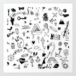 pattern ll Art Print
