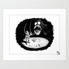 I Found It! Art Print