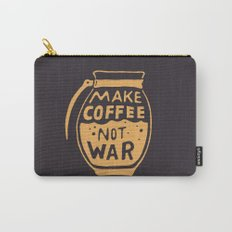 Make Coffee Not War Carry-All Pouch