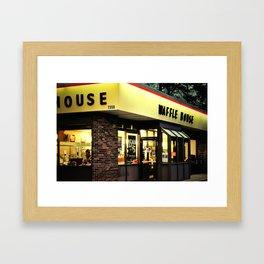 One On Every Corner Framed Art Print