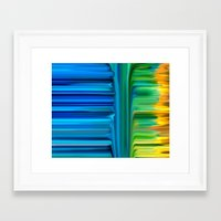 waterfall Framed Art Prints featuring Waterfall by Bruce Stanfield