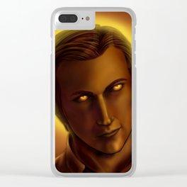 Golden Gabriel Clear iPhone Case