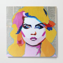 Debbie Harry Metal Print