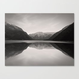 Mirroring. Lake Achensee in Tyrol. Canvas Print