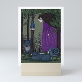 There is a Place in the Woods... Mini Art Print
