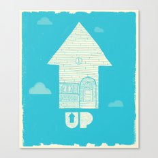 UP - Movie Poster Canvas Print