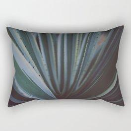 Soothing Succulent Rectangular Pillow