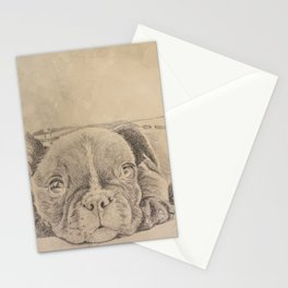 sweet puppy Stationery Cards