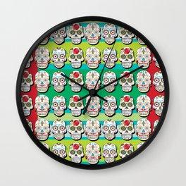 Calaveras Wall Clock