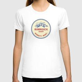 Rimrock Dairy - Winnett, MT T-shirt