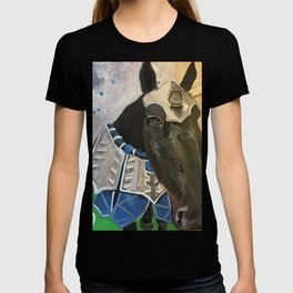 Abe; The Jousting Horse T-shirt