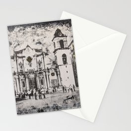 Havana Cathedral Stationery Cards