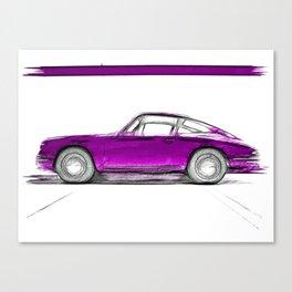 Porsche 911 / III Canvas Print