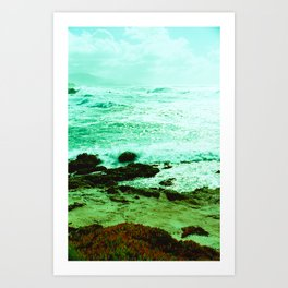 Pebble Beach Views // California Art Print