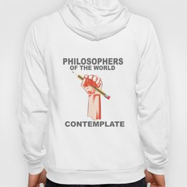 Philosophers of the world contemplate. Hoody