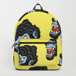 Gorilla Pattern Backpack