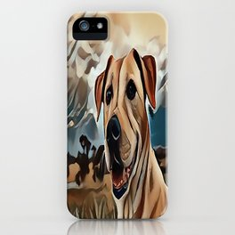 The Rhodesian Ridgeback iPhone Case