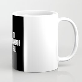 The Reichenbach Fall Coffee Mug