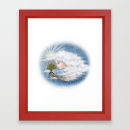 'Grow, my little love, grow' whispered Mama... Framed Art Print