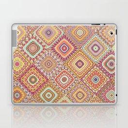 Granny's Millefiori Quilt-Spring Colors Laptop & iPad Skin