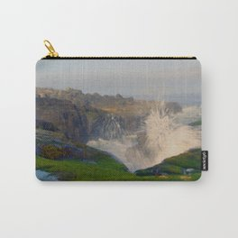 Waves Crashing in Yachats Carry-All Pouch