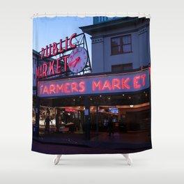 Public Market, Seattle WA Shower Curtain