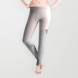 Rosy layers Leggings