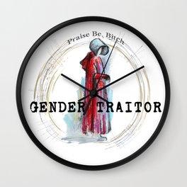 Gender Traitor - 1 Wall Clock