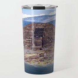 Ancient world in a modern world Travel Mug
