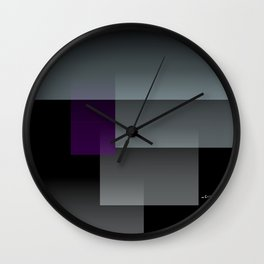 Computer Man Wall Clock