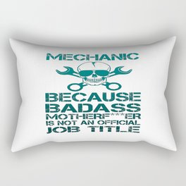 BADASS Mechanic Rectangular Pillow