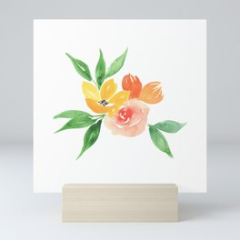 Small Bouquet Mini Art Print