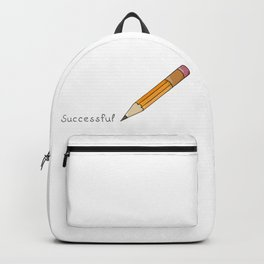 pen and written text: Successful Backpack