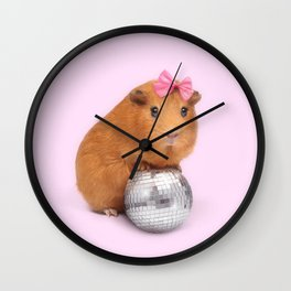PARTY ANIMAL Wall Clock