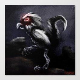 Black Fur Canvas Print