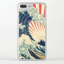 The Great Wave in Rio Clear iPhone Case