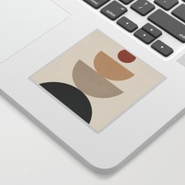 Geometric Modern Art 31 Sticker