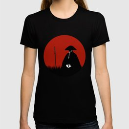 Meditating Samurai Warrior T-shirt