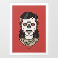 CALAVERICO Art Print
