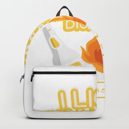 Camping And Beer Funny Camper Gifts Backpack