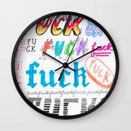 F**K Wall Clock