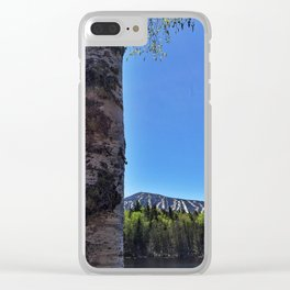 Springtime View of Sugarloaf (2) Clear iPhone Case
