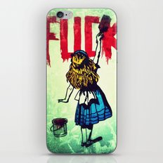 Writing Fuck iPhone & iPod Skin