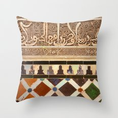 Details in The Alhambra Throw Pillow