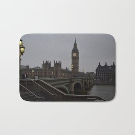 Grey day in Westminster Bath Mat