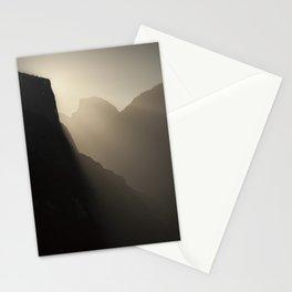 Yosemite Valley Moonlight Stationery Cards