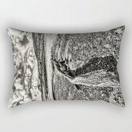 Driftwood Mono Rectangular Pillow