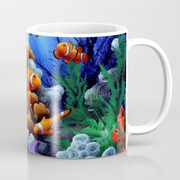 Coral Reef and Clownfish Coffee Mug