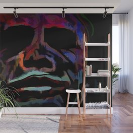 Abstract Rainbow Camouflage III Wall Mural